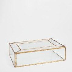 Boîte en verre