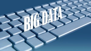 blog picture of computer keyboard with the words big data on top
