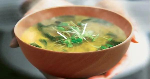 Foto del blog de la sopa de miso
