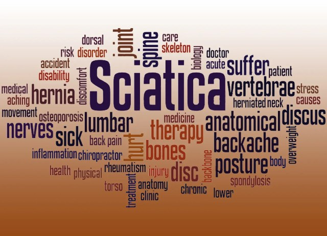 blog picture of sciatica words