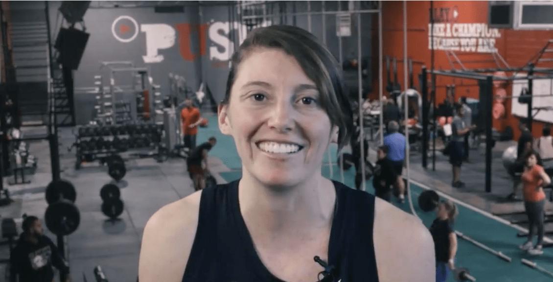 lauren baldwin gives testimonial on push as rx