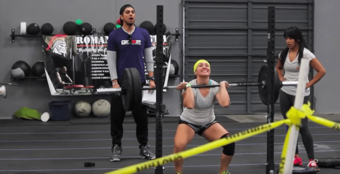 push as rx crossfit competition