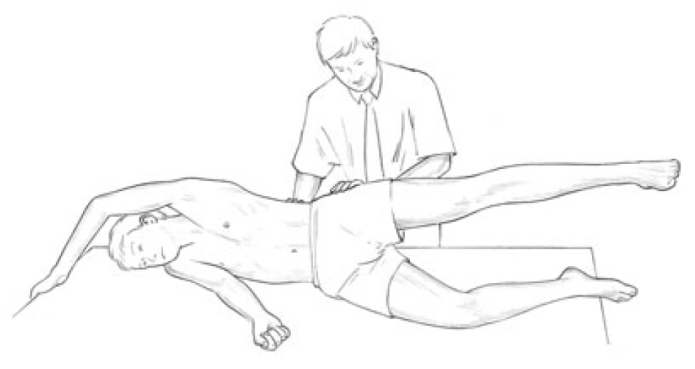 Figure 4 21 Palpation Assessment for Quadratus Lumborum Overactivity Image 1