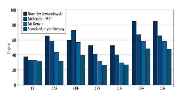 Figura 4 Parámetros funcionales de la columna cervical | El Quiropráctico El Paso, TX