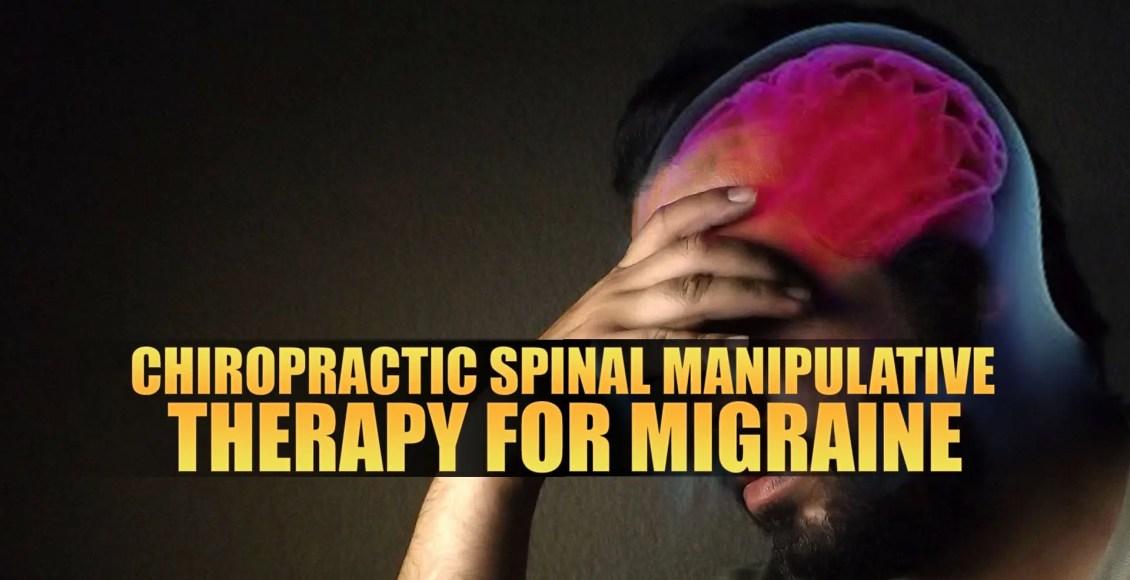 Terapia quiropráctica espinal manipuladora para la imagen de portada de migraña | El Quiropráctico El Paso, TX