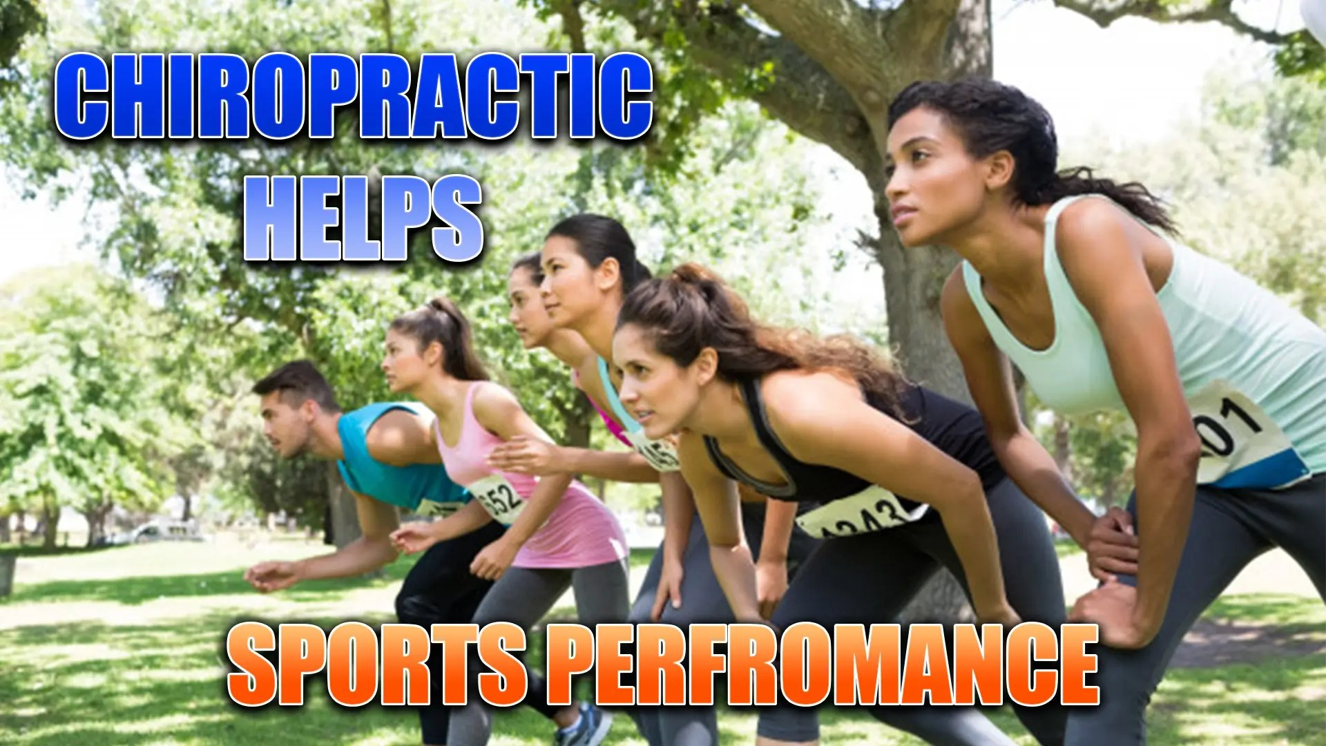 Sports Performance, Chiropractic Helps! In El Paso, TX.