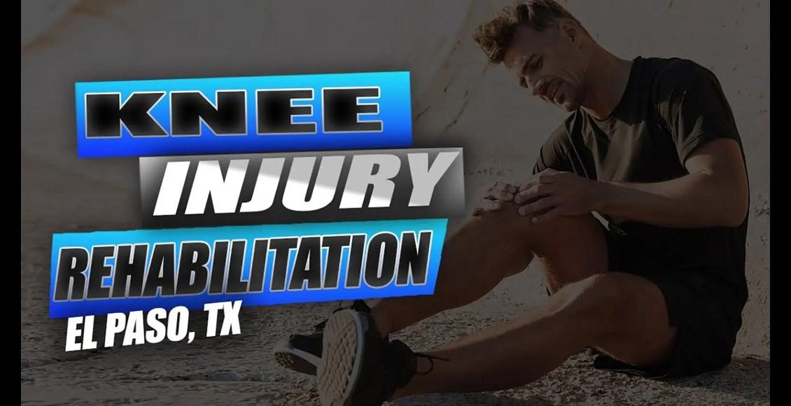 knee injury chiropractic care, el paso tx.
