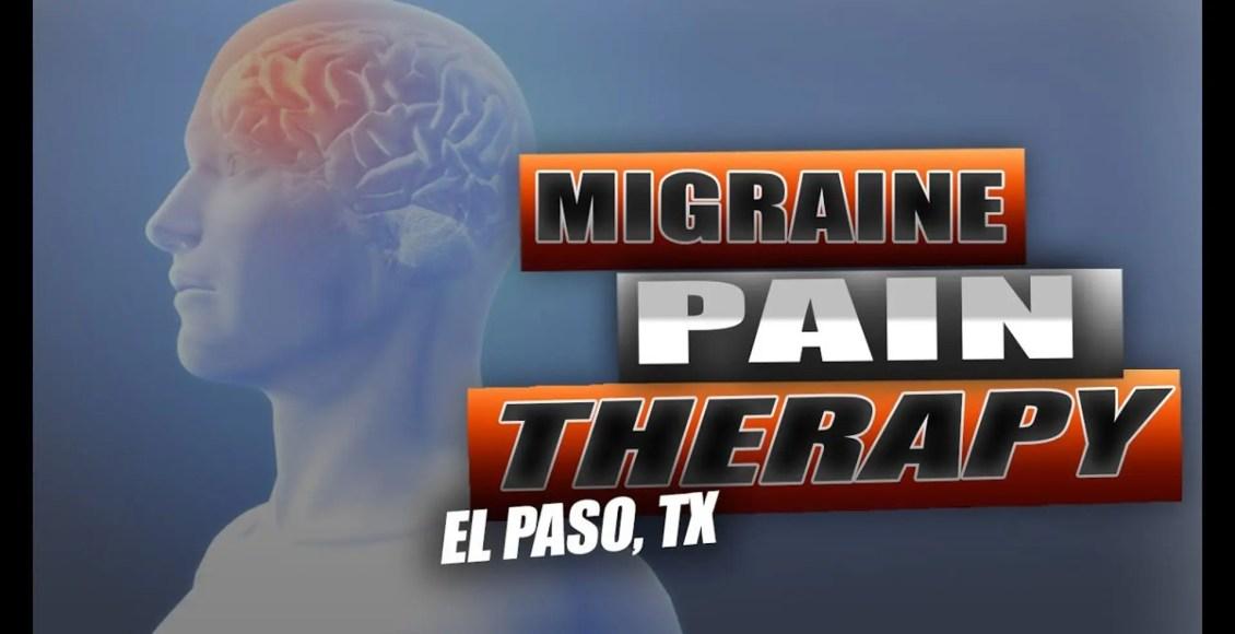 migraine chiropractic relief el paso tx.