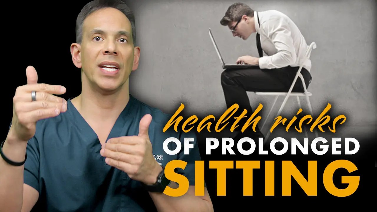 Sitting For Too Long Destroys Your Health! Fix It Today El Paso, TX.