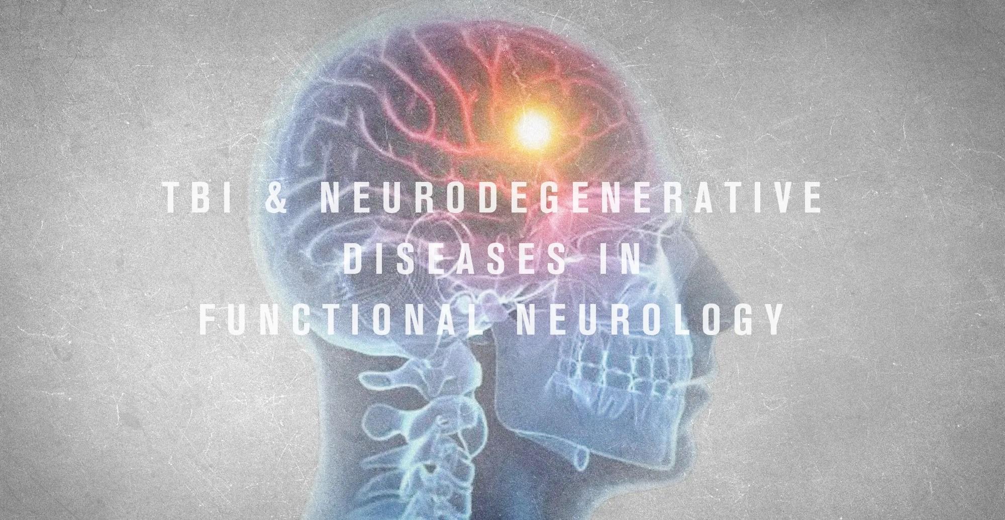 TCE e doenças neurodegenerativas em neurologia funcional