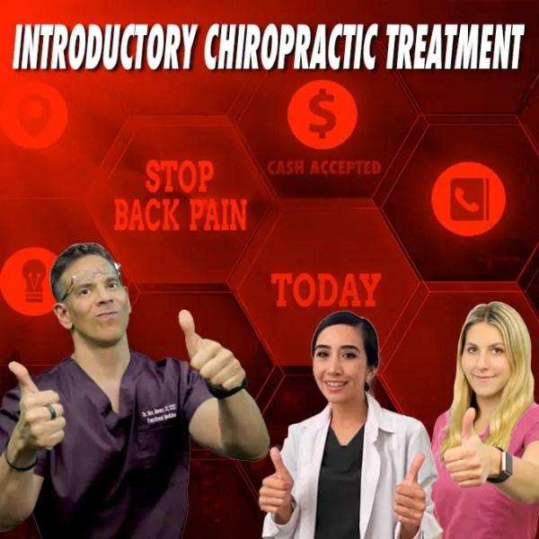 Tratamiento quiropráctico introductorio