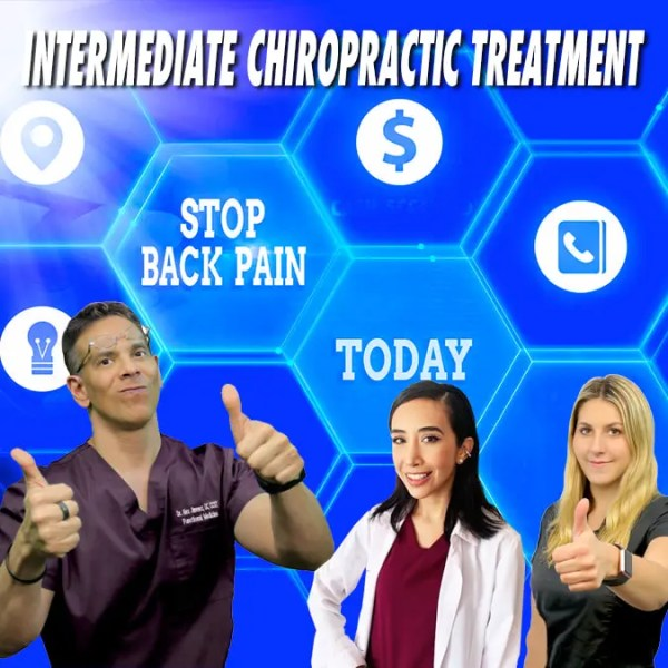 Tratamiento quiropráctico intermedio