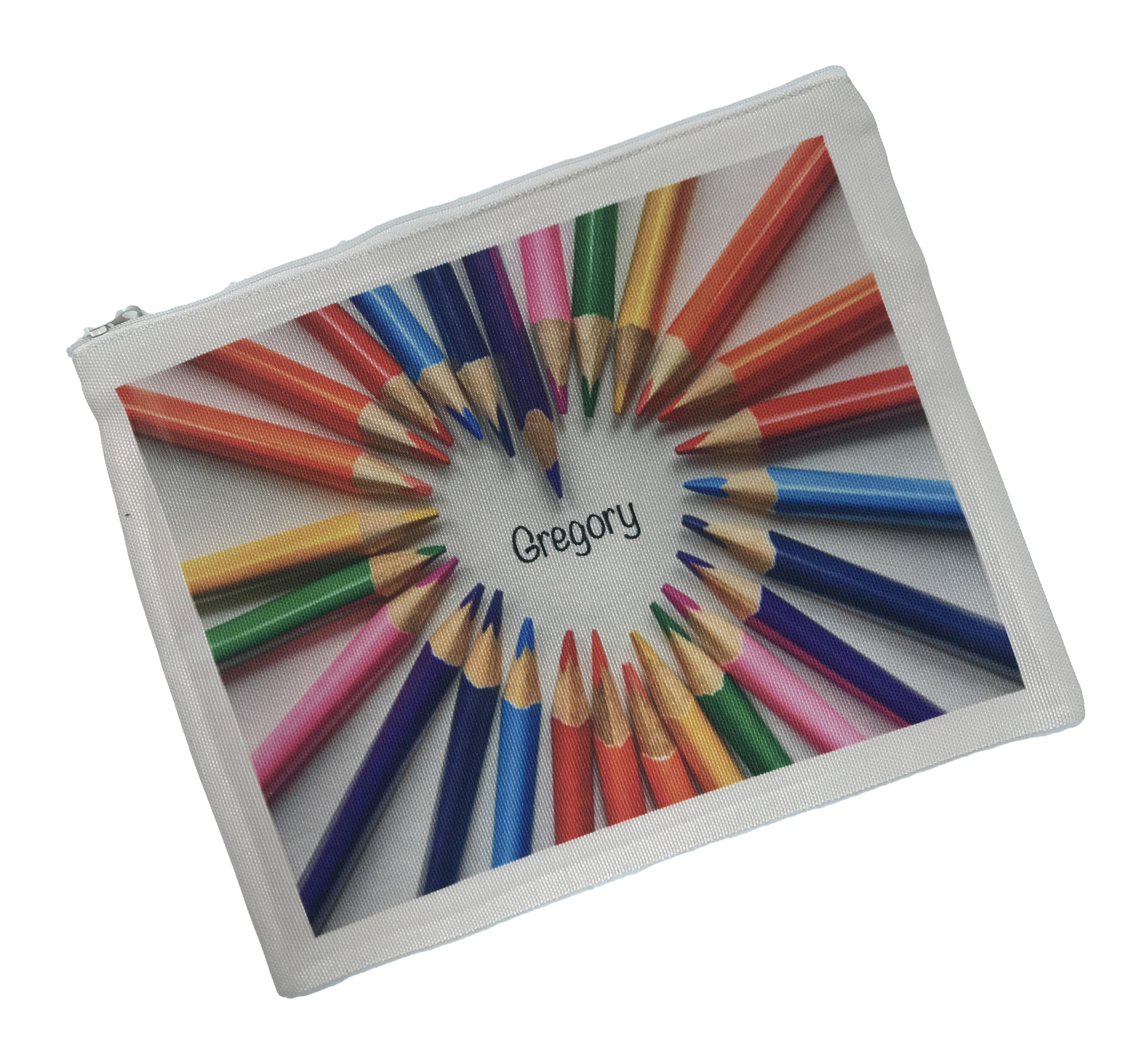 personalised pencil case add your own pictures text storage bags