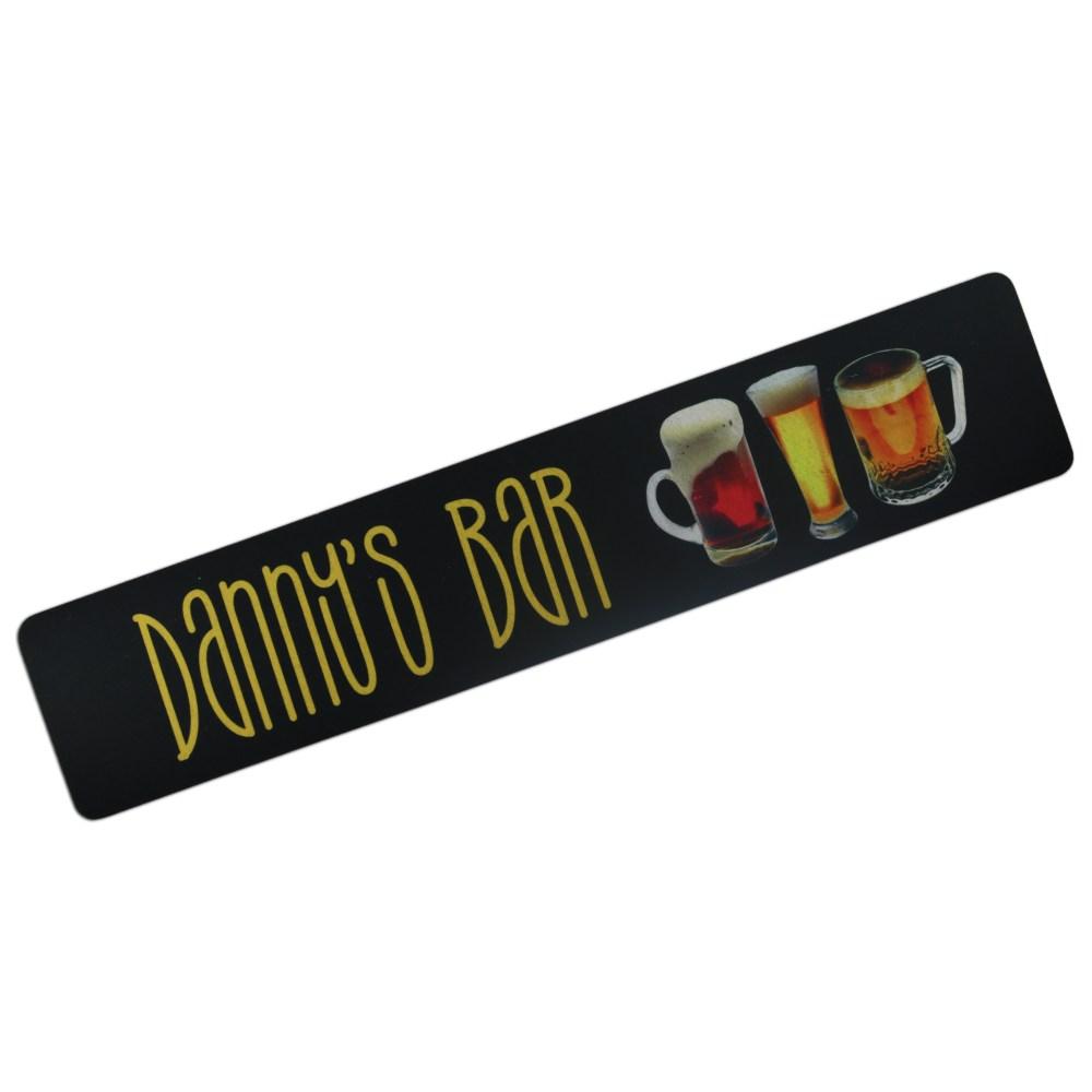 personalised bar mats