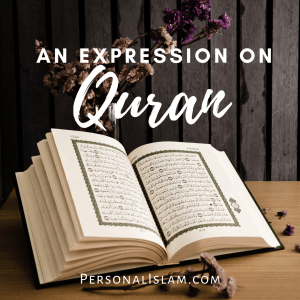 An Expression on Quran