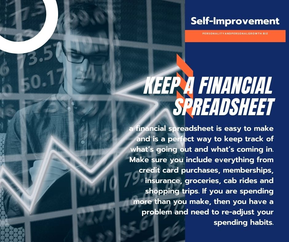 Self-Improvement Steps and Your Finances