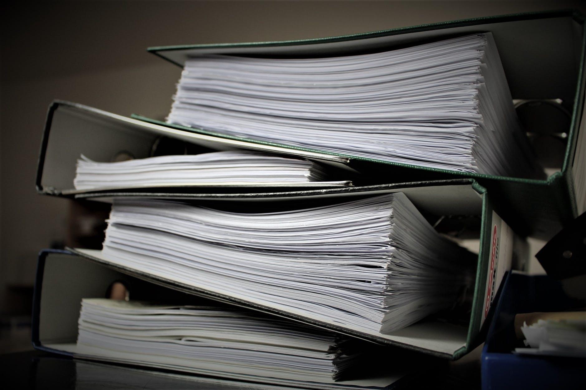 Por quanto tempo você deve guardar os documentos da sua empresa?