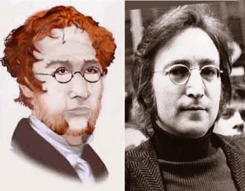 Branwell Bronte John Lennon 3