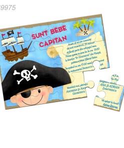 Invitatii Botez Pirati