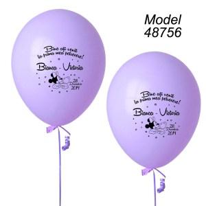 Baloane Personalizate Botez Minnie Mouse