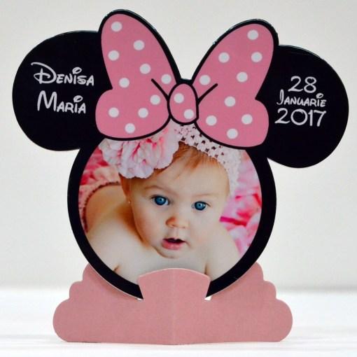 Rame Foto Marturii Minnie Mouse