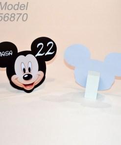 Numar Masa Forma Mickey