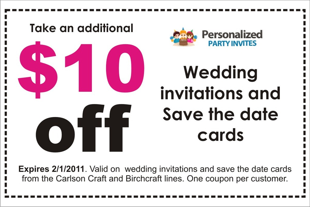Party Invitations Discount