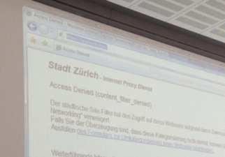 Stadt Zürich verweigert den Zugriff auf Facebook