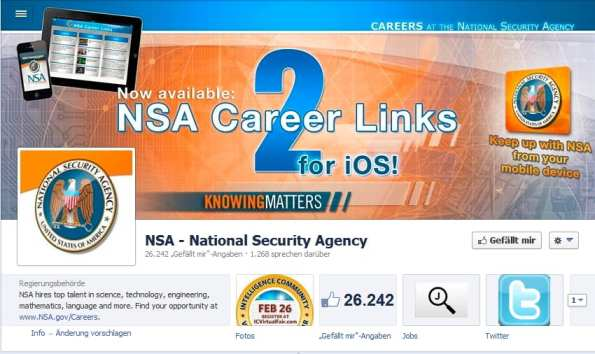 NSA auf Facebook