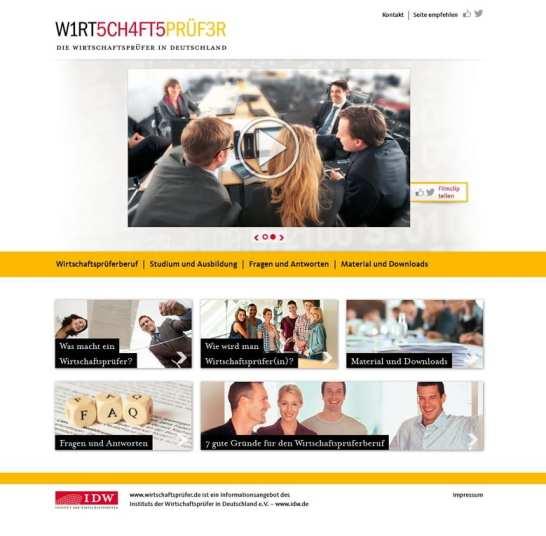 W1RT5CH4FT5PRÜF3R - Die Website wirtschaftsprüfer.de