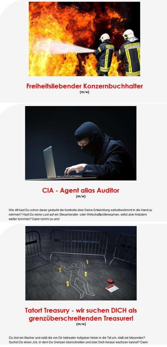 Freiheitsliebende Konzernbuchhalter, CIA-Agenten und Tatort Treasurer bei Tri Finance