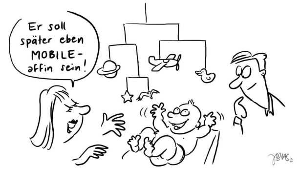 """Die """"mobile affine"""" Zielgruppe"""