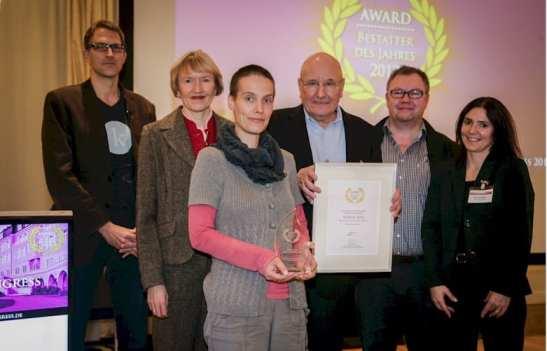 Award-Verleihung Bestatter des Jahres - Quelle FID-Verlag