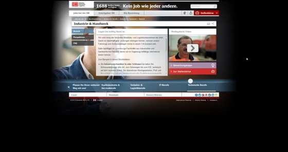 Eine Karriere-Website, die ausschließlich fürs iPad optimiert ist - Die Bahn macht mobil