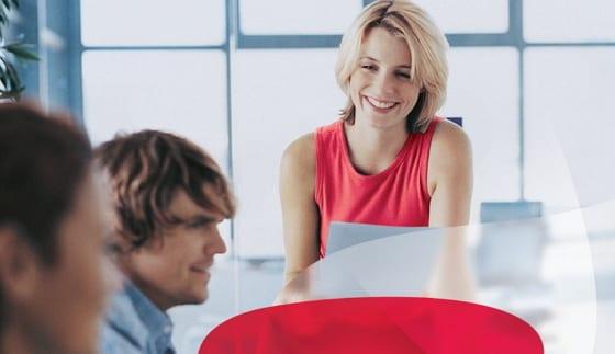 Eine Stellenanzeige für HRS? - Ausschnitt aus der Anzeige Referent Reservierung Spezial der Ergo