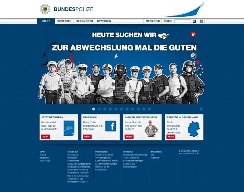 Bundespolizei Karriere