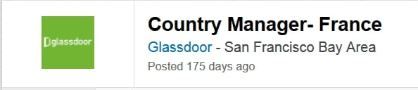 Country Manager France Glassdoor