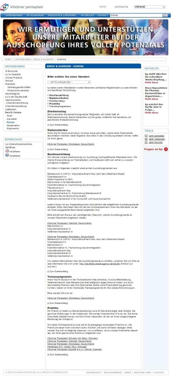 Ermutigen und unterstützen - runkelrübenverdächtige Karriere-Website