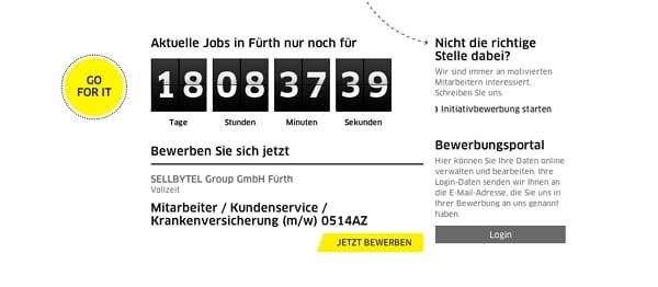 Aktuelle Jobs in Fürth nur noch für 18 Tage