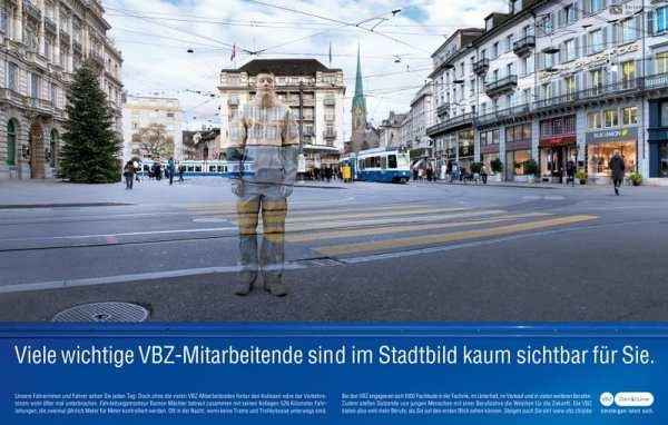 Personalmarketing-Kampagne der VBZ-Unsichtbare Talente 4