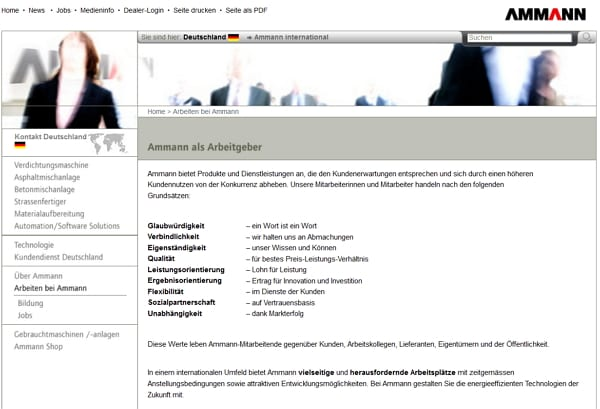 Employer Branding: Auch mit einer gesichtslosen Karriere-Website zahlen Sie auf Ihre Arbeitgebermarke ein. Eher negativ allerdings.