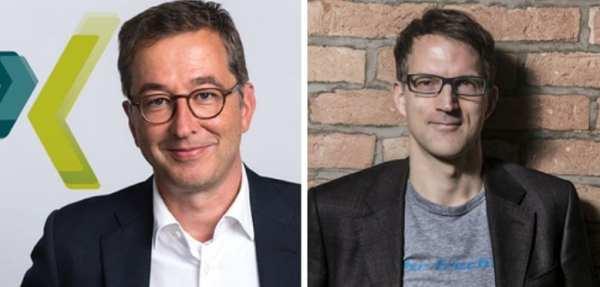 Thomas Volllmoeller und Henner Knabenreich eröffnen die HR-NIGHT