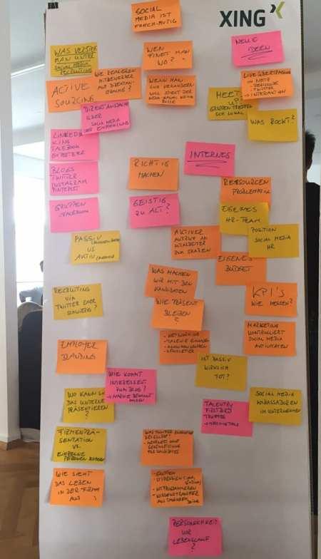 XING Barcamp Frankfurt - Session Social Media Recruiting