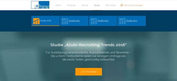 Studie Azubi-Recruiting Trends 2016