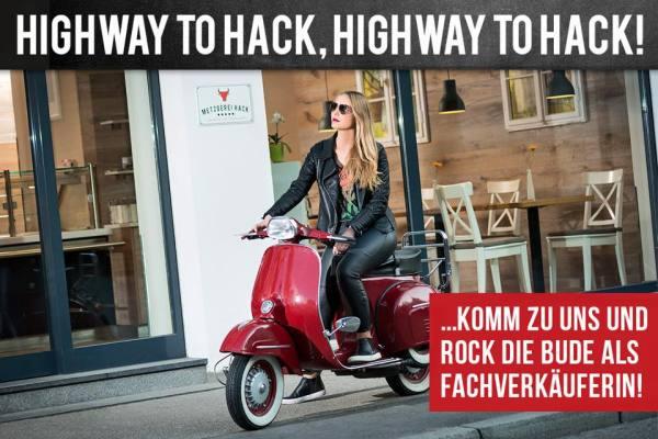 Highway to Hack - peinliche Personalwerbung bei Fleischerei Hack