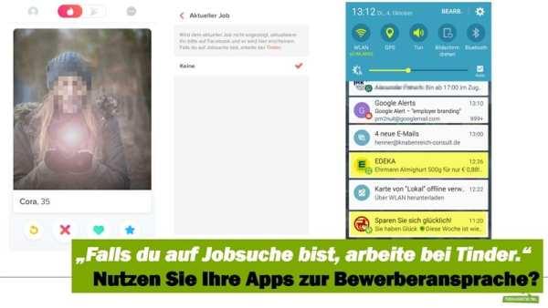 Bewerberansprache via App - auch so könnte Personalmarketing gehen