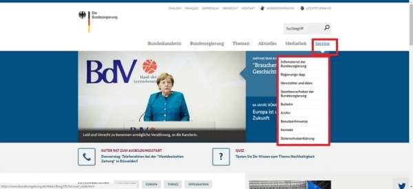 Kampagnenseite durchstaaten ist über die Navigation nicht aufrufbar