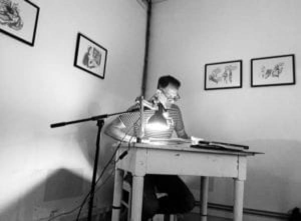 Henner liest aus seinem Buch Karriere-Websites mit Wow-Effekt