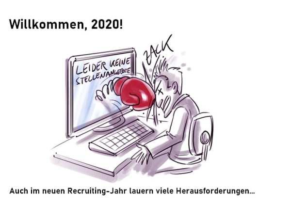 Recruiting Trends 2020_Auch im neuen Jahr lauern viele Herausforderungen