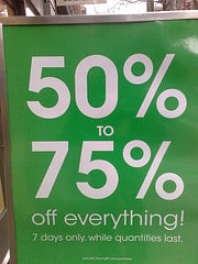 The Sale Fallacy – Do You Really Save?